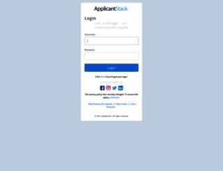communicationstudies-lsa.applicantstack.com screenshot