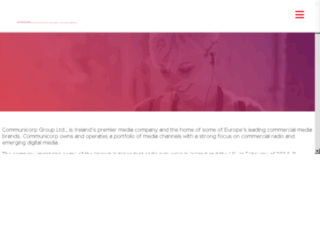 communicorp.ie screenshot