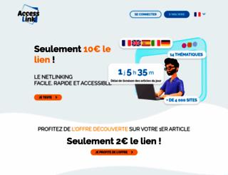 communique-presse-gratuits.com screenshot