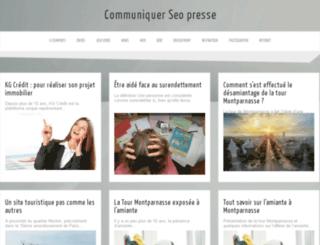 communiquer.seo-presse.fr screenshot