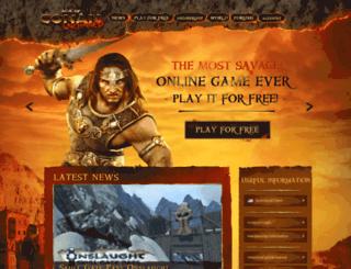 community-de.ageofconan.com screenshot