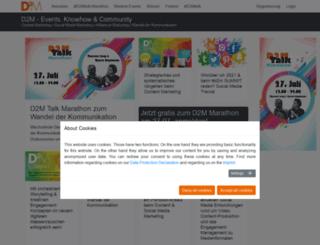 community-summit.de screenshot