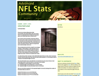 community.advancednflstats.com screenshot