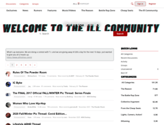 community.allhiphop.com screenshot