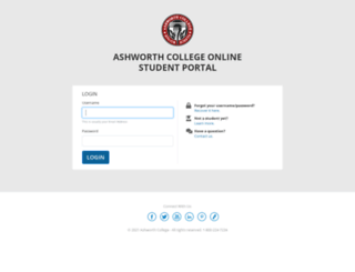 community.ashworthcollege.edu screenshot