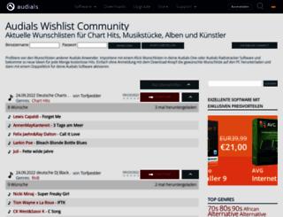 community.audials.com screenshot