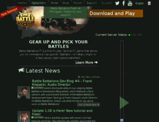 community.battlebattalions.com screenshot