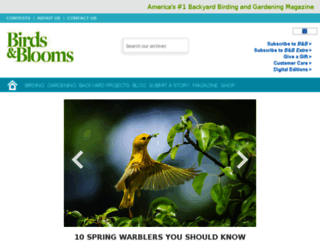 community.birdsandblooms.com screenshot