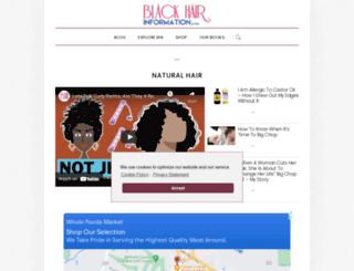 community.blackhairinformation.com screenshot