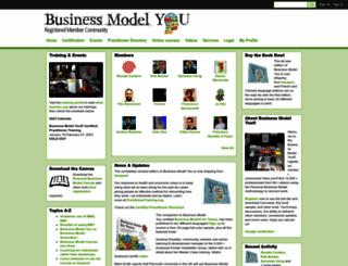 community.businessmodelyou.com screenshot