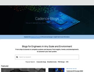 community.cadence.com screenshot