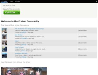 community.cruisercustomizing.com screenshot