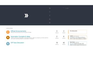 community.dashos.net screenshot