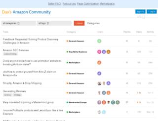 community.daxdeegan.com screenshot
