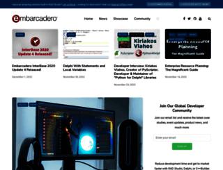 community.embarcadero.com screenshot