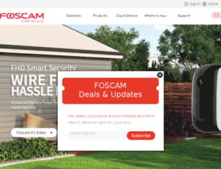 community.foscam.com screenshot