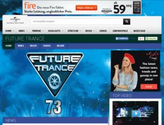 community.futuretrance.de screenshot