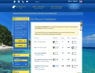 community.go-thassos.gr screenshot