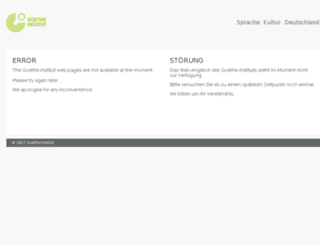 community.goethe.de screenshot