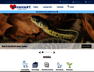 community.havahart.com screenshot