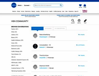 community.hsn.com screenshot