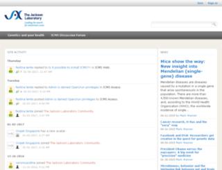 community.jax.org screenshot