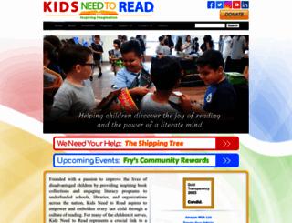 community.kidsneedtoread.org screenshot