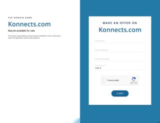 community.konnects.com screenshot