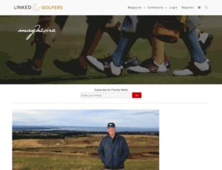 community.linkedgolfers.com screenshot