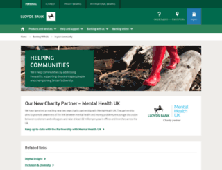 community.lloydsbank.com screenshot