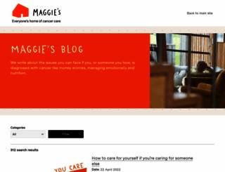 community.maggiescentres.org screenshot
