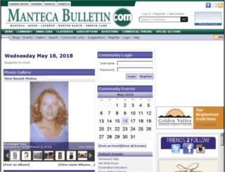 community.mantecabulletin.com screenshot