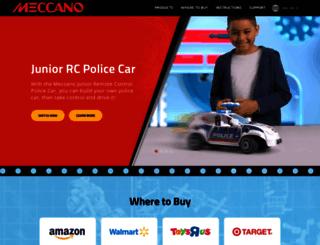 community.meccano.com screenshot