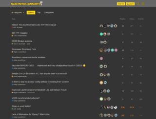 community.micro-motor-warehouse.com screenshot