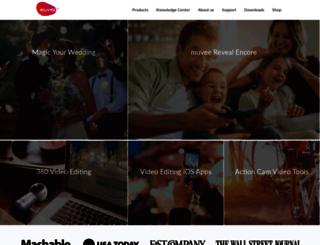 community.muvee.com screenshot