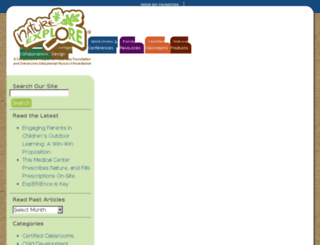 community.natureexplore.org screenshot