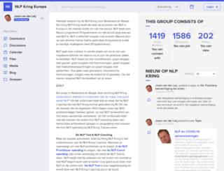 community.nlpkring.nl screenshot