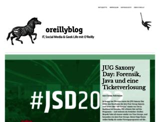 community.oreilly.de screenshot