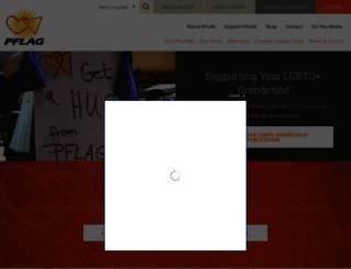 community.pflag.org screenshot