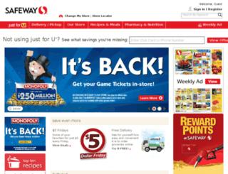 community.safeway.com screenshot