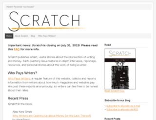community.scratchmag.net screenshot