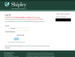 community.shipleyschool.org screenshot