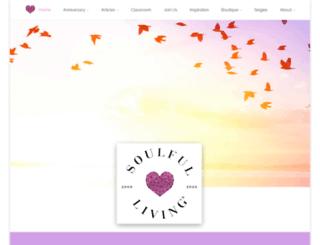 community.soulfulliving.com screenshot