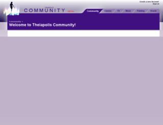 community.theiapolis.com screenshot