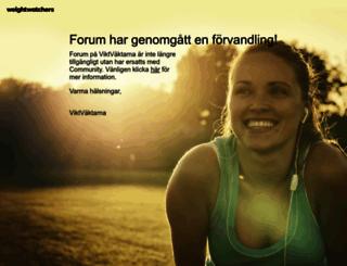 community.viktvaktarna.se screenshot