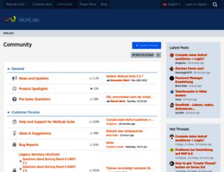 community.woltlab.com screenshot
