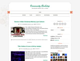 communitybookstop.blogspot.com screenshot