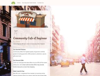 communitycafeofsaginaw.snack.ws screenshot
