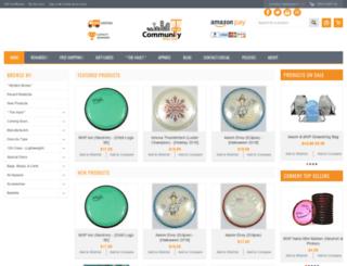 communitydiscs.com screenshot