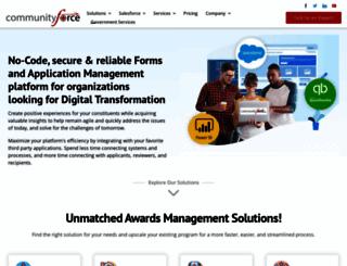 communityforce.com screenshot